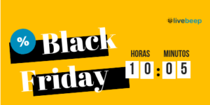 Black Friday Contador Promo Livebeep