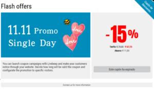 Livebeep para tus promociones del Día del Soltero